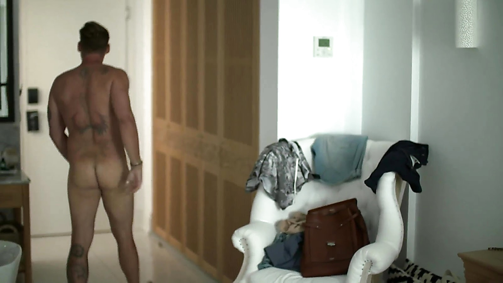 Lee Ryan sexy shirtless scene September 4, 2019, 12pm