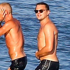 Leonardo Dicaprio latest sexy shirtless September 1, 2018, 11am