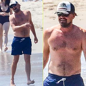 Leonardo Dicaprio latest sexy shirtless August 18, 2020, 2pm