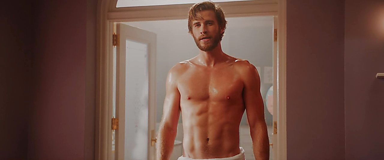 Liam Hemsworth sexy shirtless scene February 28, 2019, 9am