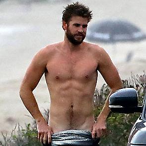 Liam Hemsworth latest sexy shirtless October 28, 2016, 4pm