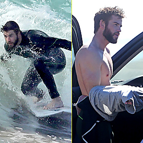 Liam Hemsworth latest sexy shirtless December 19, 2017, 1pm
