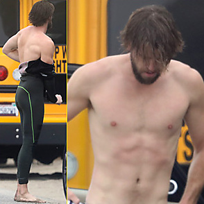 Liam Hemsworth latest sexy shirtless June 20, 2017, 5pm
