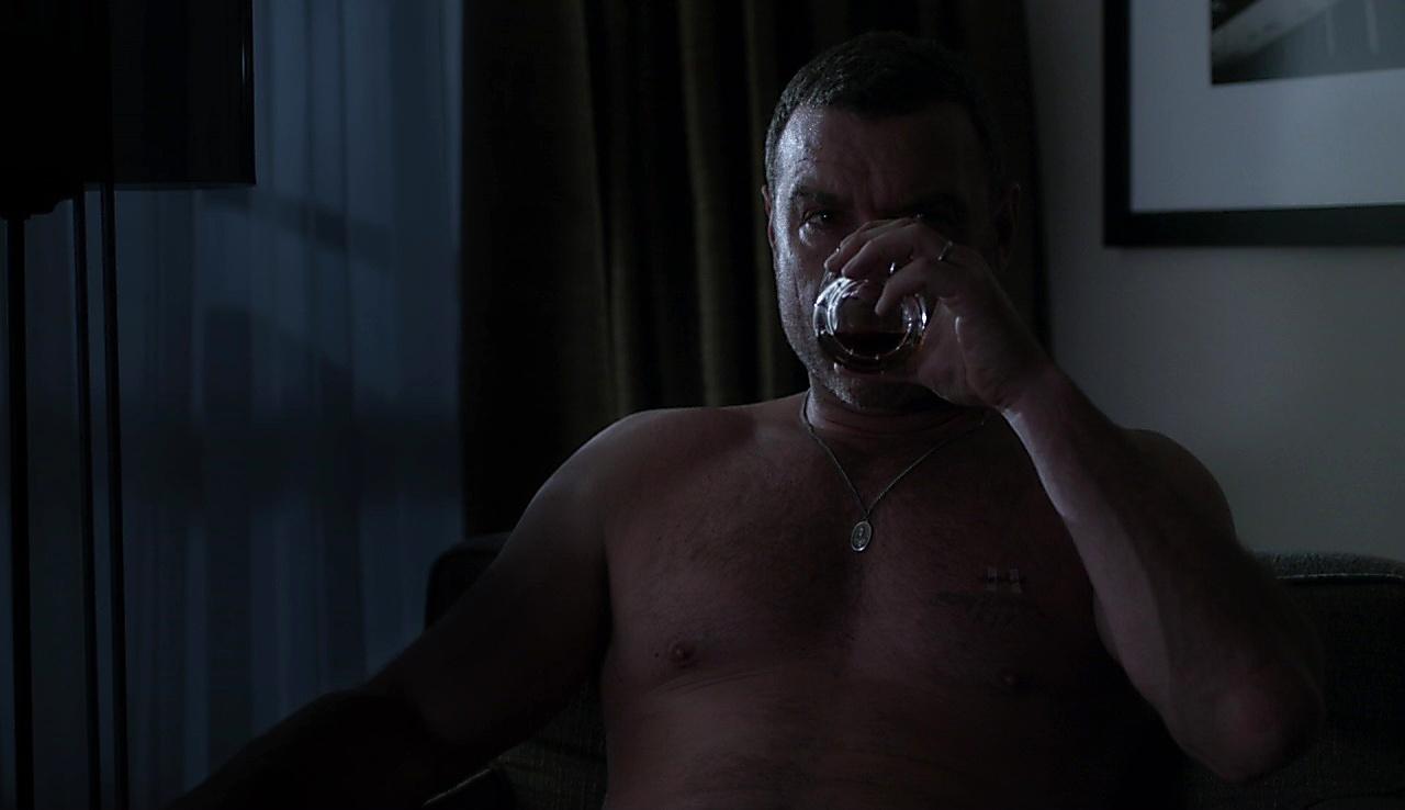 Liev Schreiber sexy shirtless scene September 25, 2017, 1pm