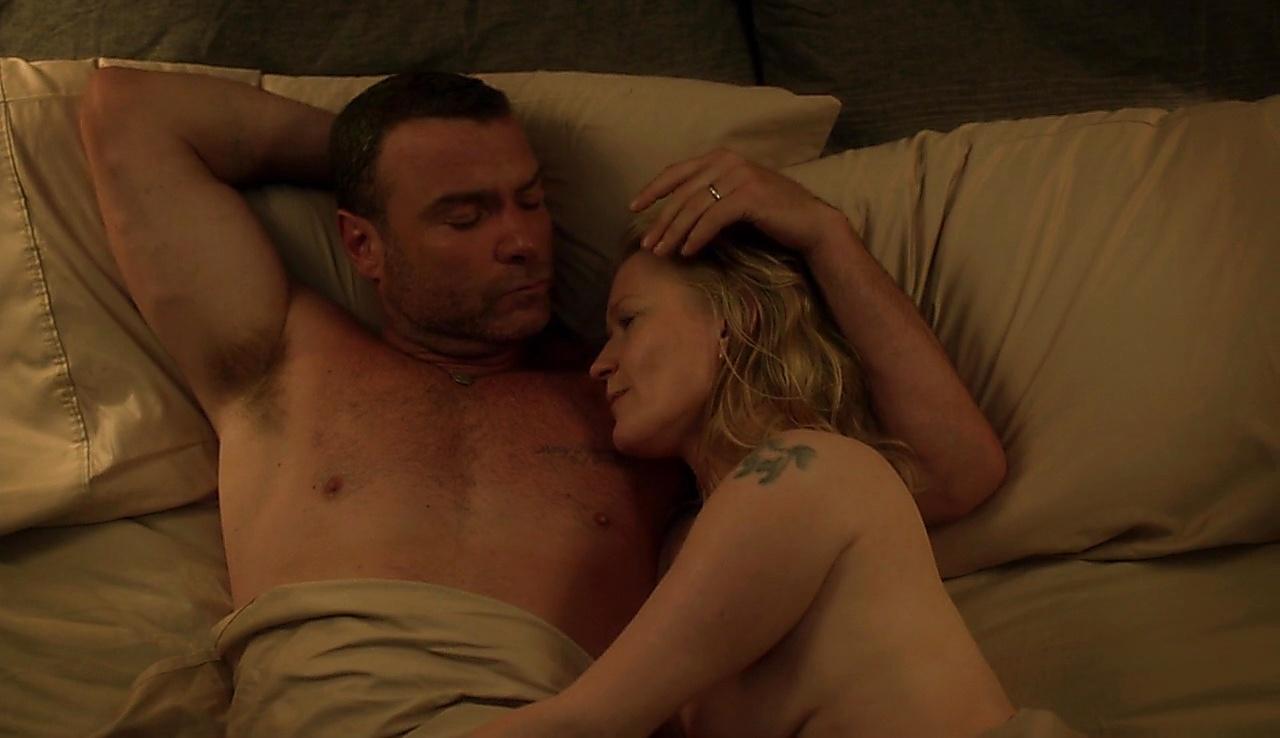 Liev Schreiber sexy shirtless scene September 11, 2017, 6am
