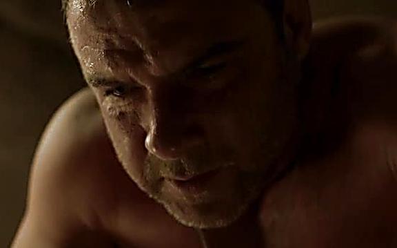 Liev Schreiber sexy shirtless scene August 10, 2014, 10pm
