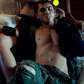 Logan Lerman latest sexy shirtless April 1, 2014, 1pm