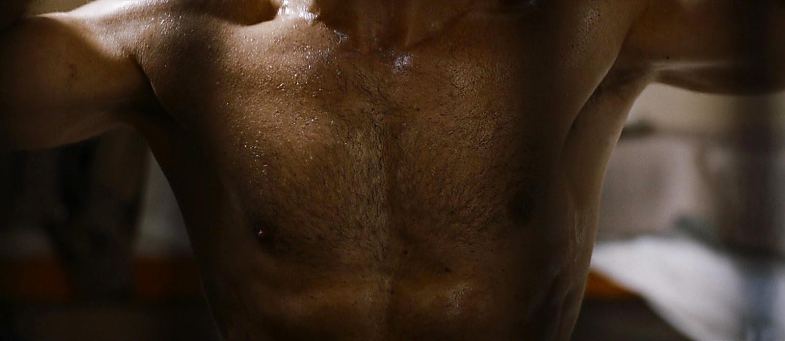 Luca Argentero sexy shirtless scene July 28, 2017, 9am