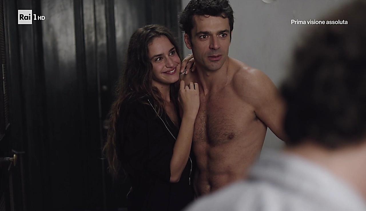 Luca Argentero sexy shirtless scene December 2, 2017, 1pm