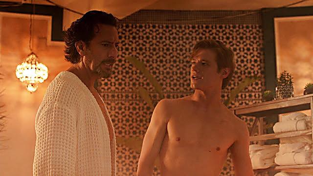 Lucas Till sexy shirtless scene December 5, 2020, 1pm