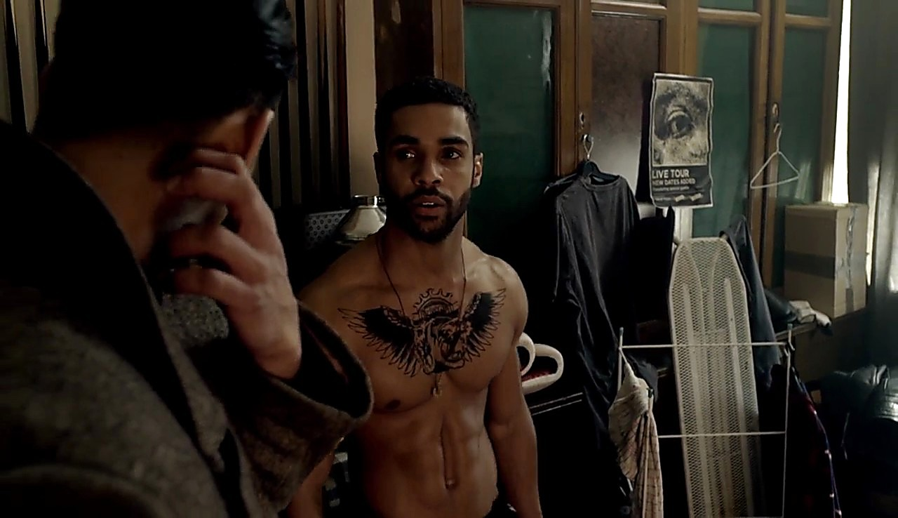 Lucien Laviscount sexy shirtless scene March 16, 2017, 2pm