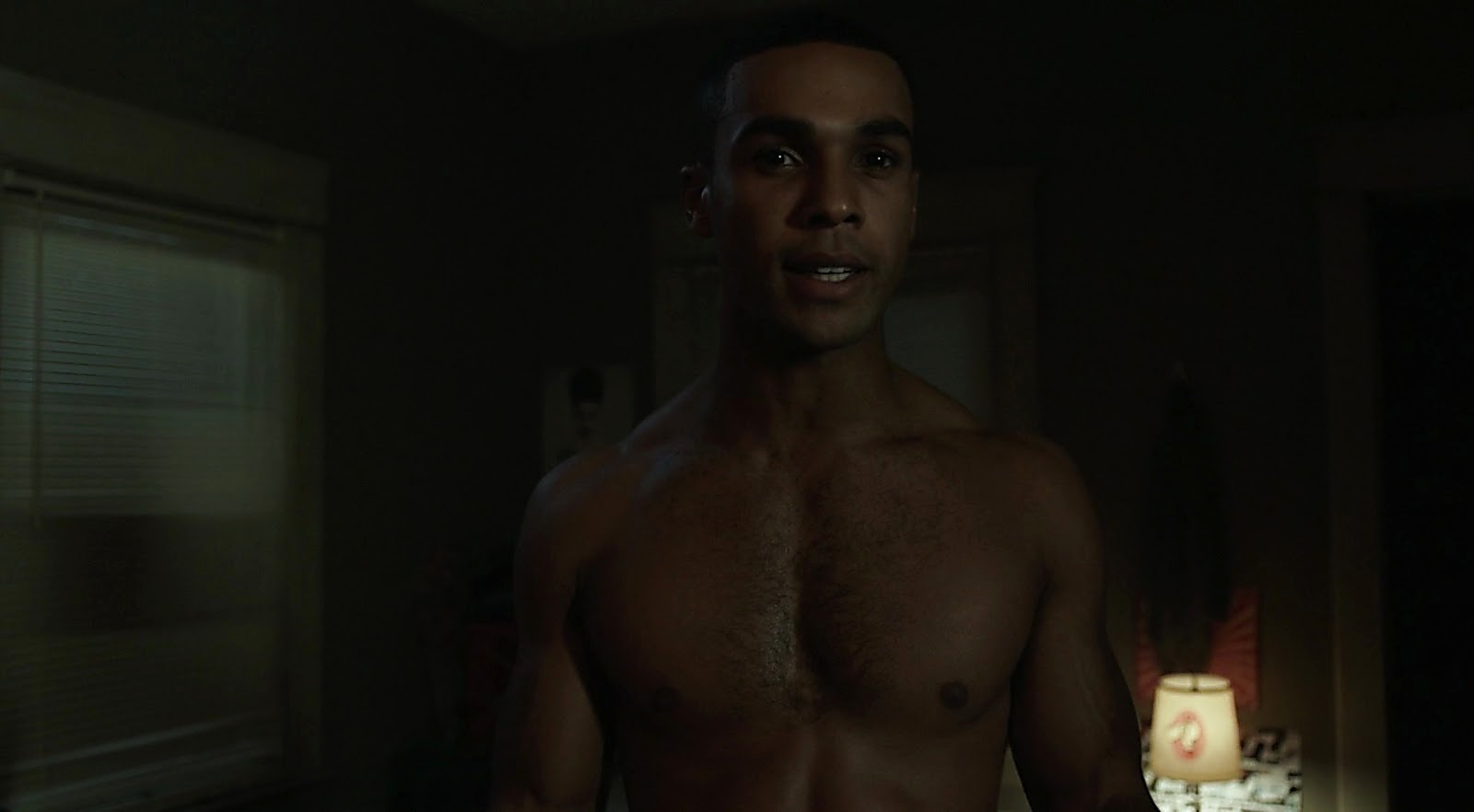 Lucien Laviscount sexy shirtless scene March 29, 2017, 1pm