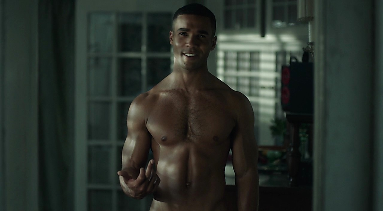 Lucien Laviscount sexy shirtless scene April 8, 2017, 1pm
