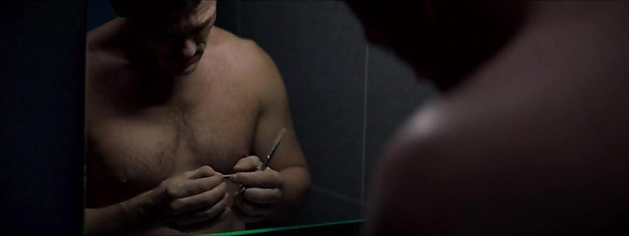 Luke Evans latest sexy shirtless scene March 20, 2018, 1pm