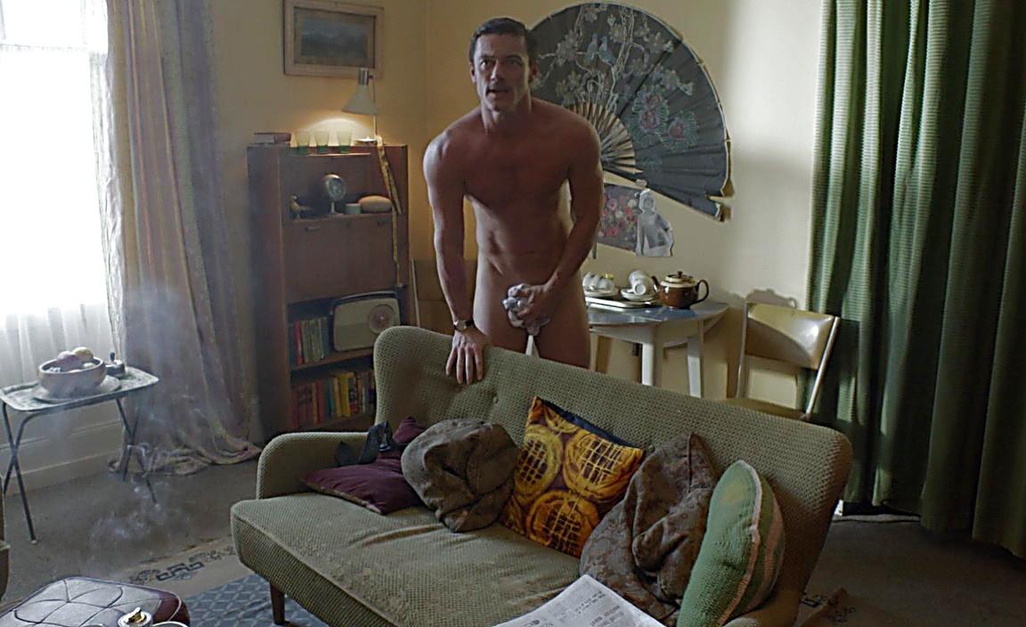 Luke Evans sexy shirtless scene January 18, 2014, 6pm