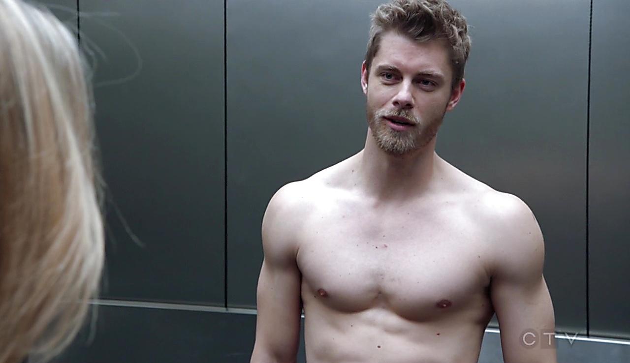 Luke Mitchell latest sexy shirtless scene March 10, 2018, 1pm