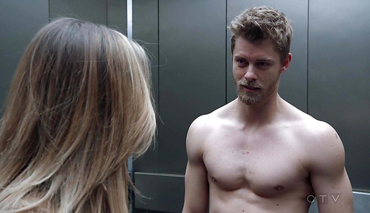 Luke Mitchell sexy shirtless scene March 10, 2018, 1pm