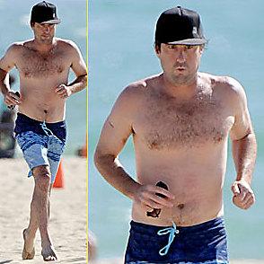 Luke Wilson latest sexy shirtless July 11, 2014, 8pm