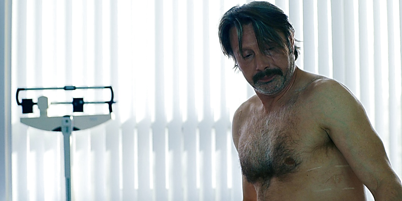 Mads Mikkelsen sexy shirtless scene January 29, 2019, 10am