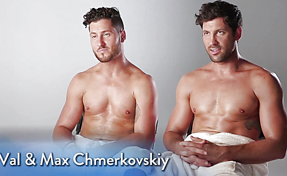 Maksim Chmerkovskiy sexy shirtless scene May 22, 2014, 10pm