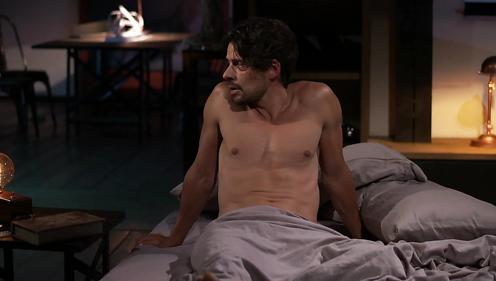 Manuel Balbi latest sexy shirtless scene August 12, 2017, 10am