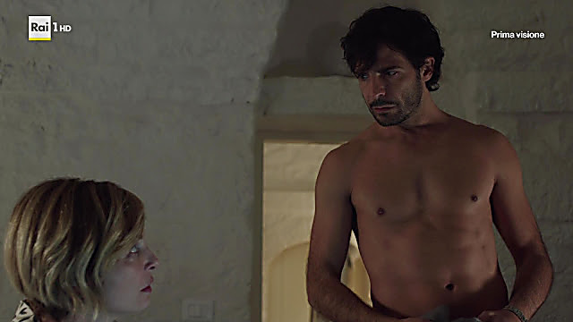 Marco Bocci sexy shirtless scene October 9, 2021, 12pm