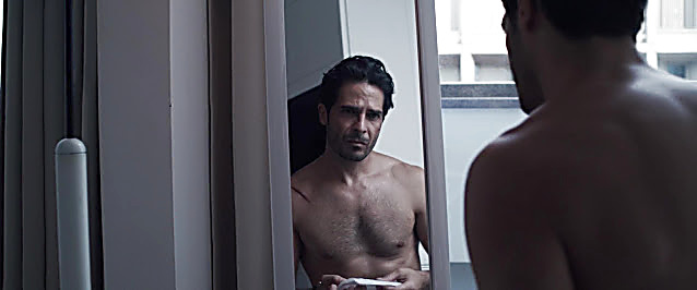 Marco Bocci sexy shirtless scene February 5, 2021, 6am