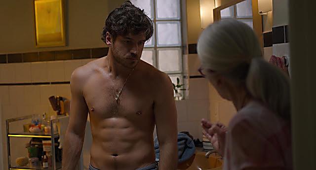 Marco Pigossi sexy shirtless scene February 8, 2021, 1pm