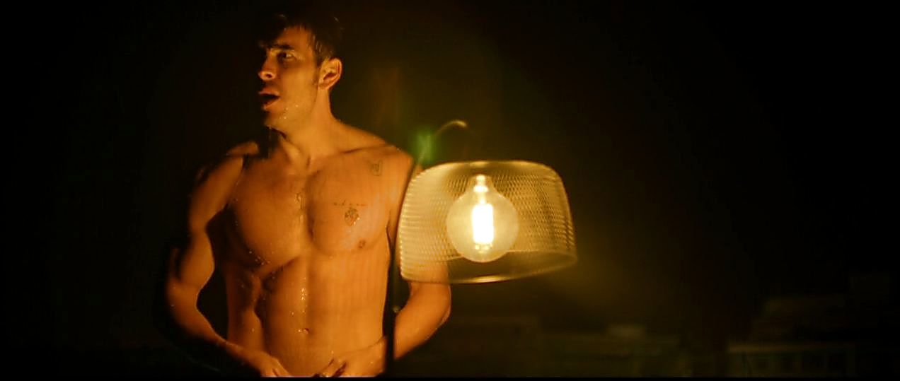 Mario Casas sexy shirtless scene May 10, 2019, 1pm