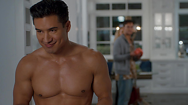 Mario Lopez sexy shirtless scene November 30, 2020, 5am