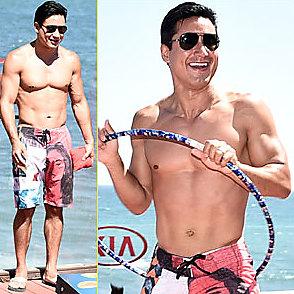 Mario Lopez latest sexy shirtless July 18, 2016, 7am