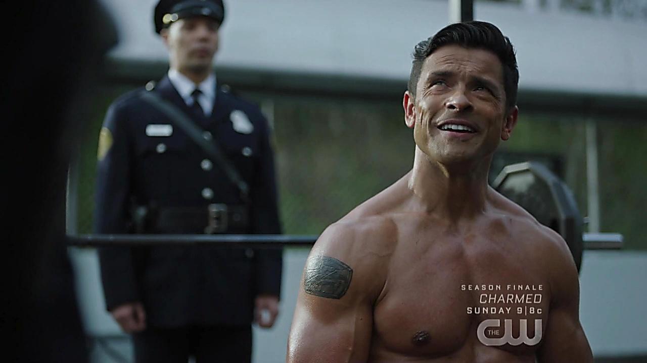 Mark Consuelos sexy shirtless scene May 16, 2019, 11am