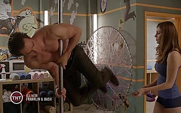 Mark Paul Gosselaar sexy shirtless scene September 22, 2014, 5pm