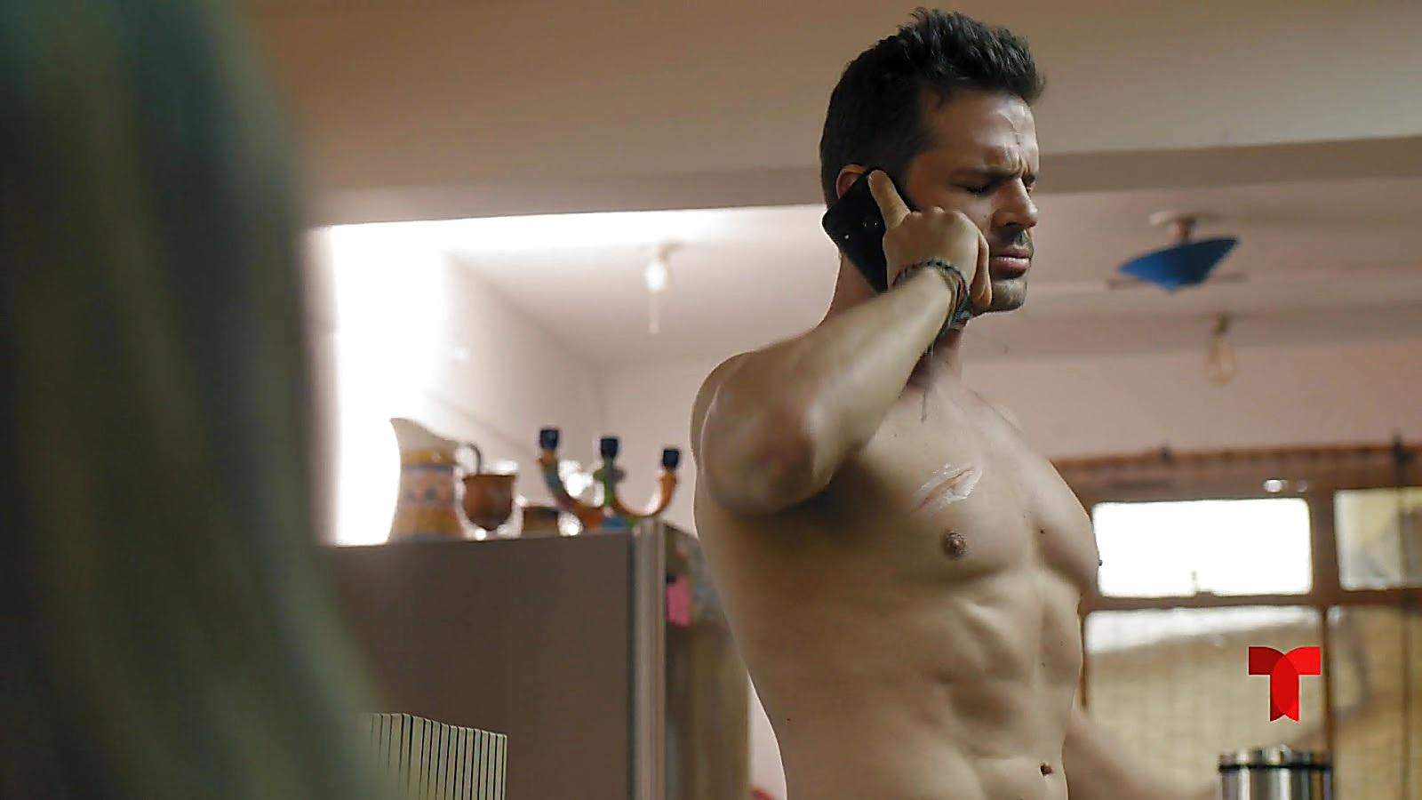 Mark Tacher sexy shirtless scene April 8, 2020, 6am