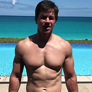 Mark Wahlberg latest sexy shirtless April 1, 2018, 12am