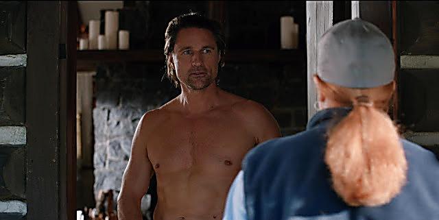 Martin Henderson sexy shirtless scene August 4, 2021, 4am