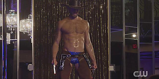 Matt Barr sexy shirtless scene February 5, 2021, 6am