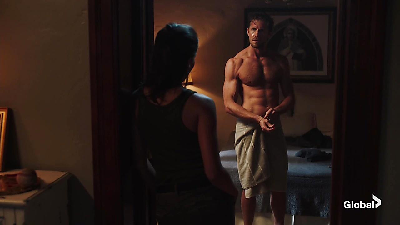Matt Barr sexy shirtless scene June 13, 2019, 1pm