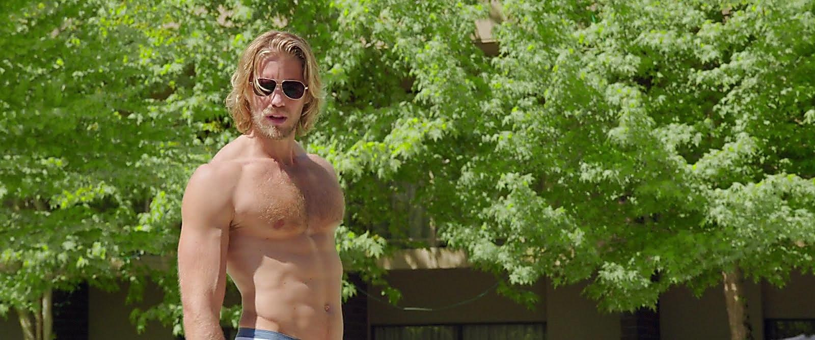 Matt Barr sexy shirtless scene September 1, 2017, 11am