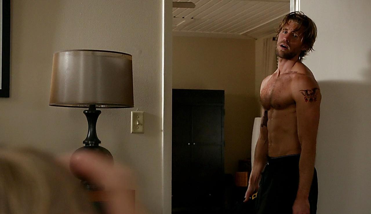 Matt Barr sexy shirtless scene October 10, 2017, 7am