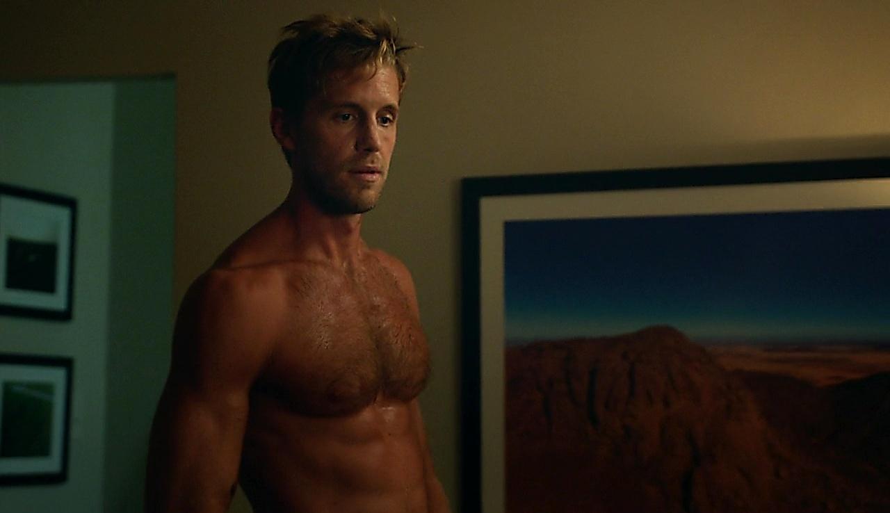 Matt Barr sexy shirtless scene October 31, 2017, 10am