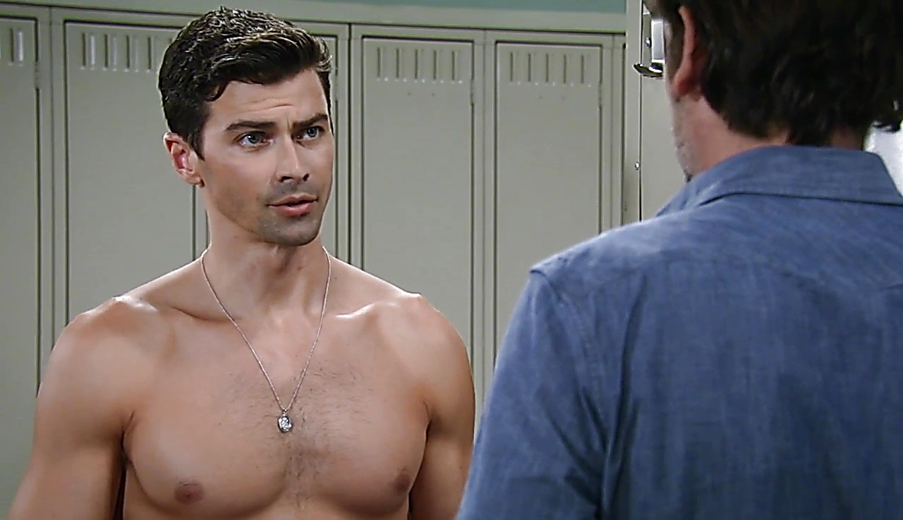 Matt Cohen sexy shirtless scene September 30, 2017, 3pm