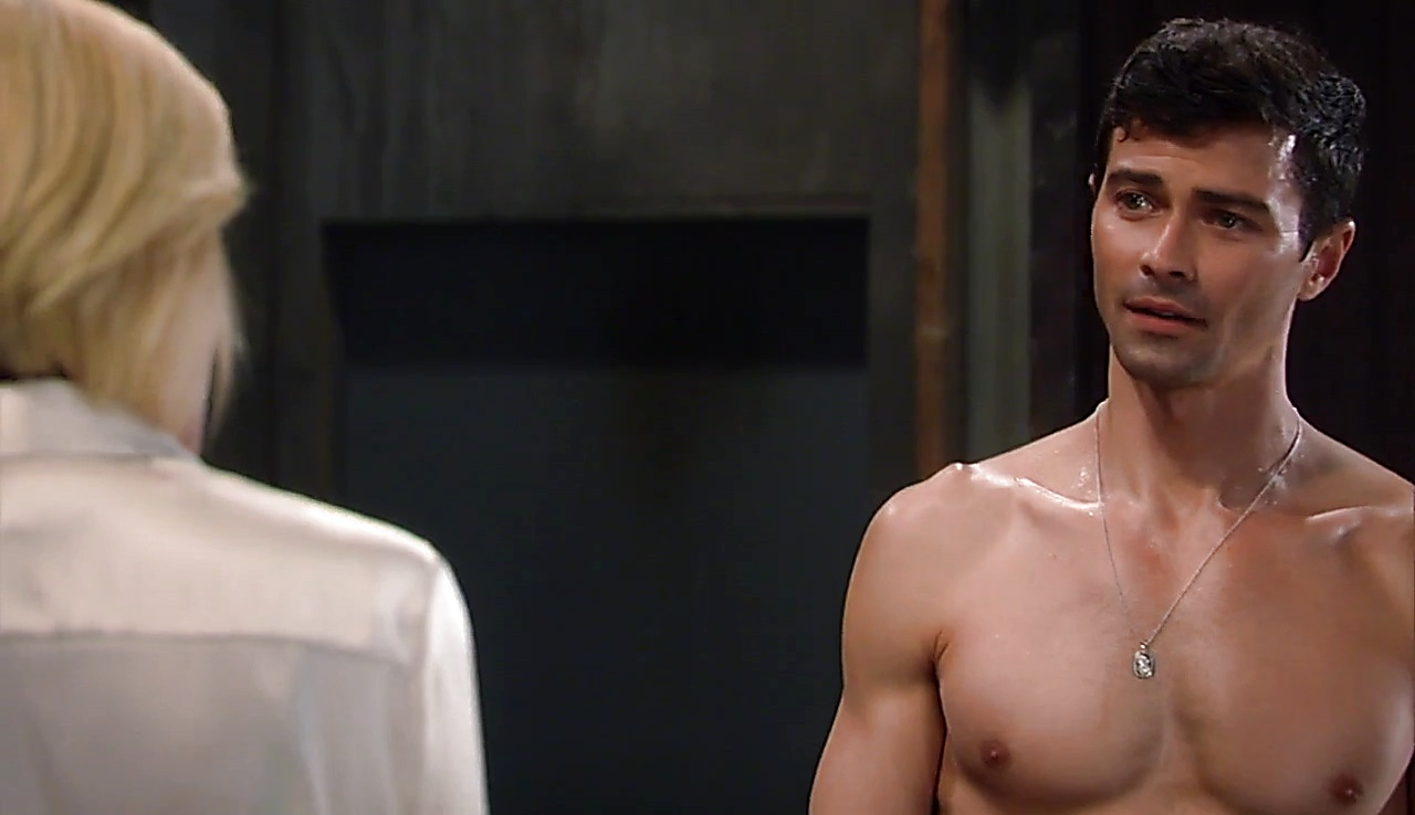 Matt Cohen sexy shirtless scene August 4, 2018, 1pm