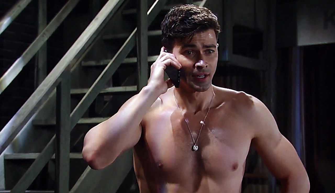 Matt Cohen sexy shirtless scene April 18, 2017, 12pm