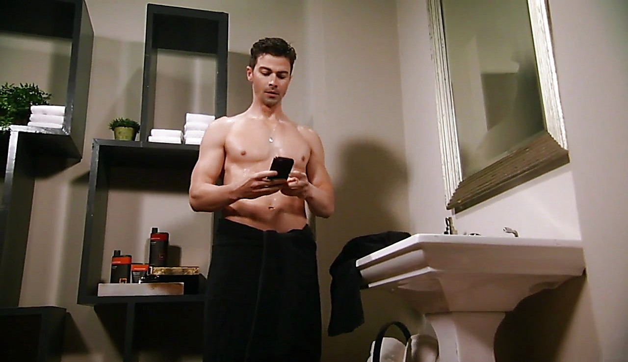 Matt Cohen sexy shirtless scene June 19, 2017, 1pm