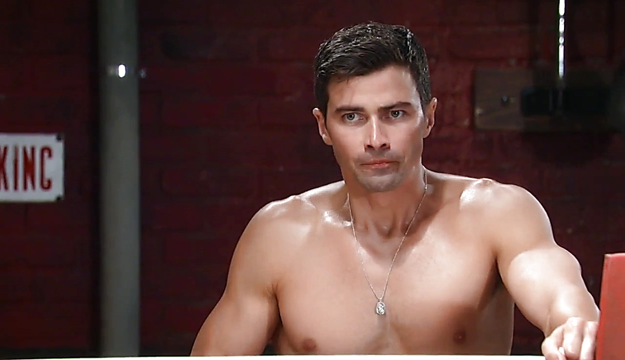 Matt Cohen sexy shirtless scene September 8, 2017, 1pm