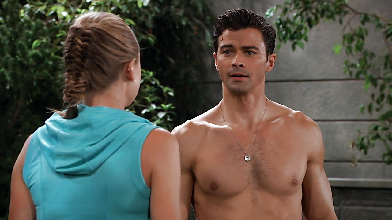 Matt Cohen sexy shirtless scene September 9, 2018, 1pm