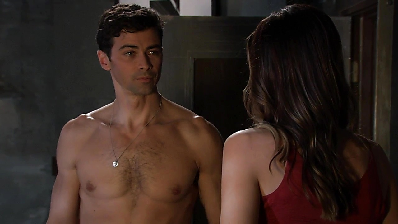 Matt Cohen sexy shirtless scene November 11, 2018, 2pm