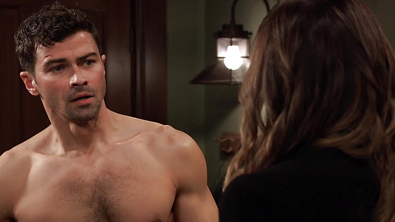 Matt Cohen sexy shirtless scene February 14, 2019, 11am