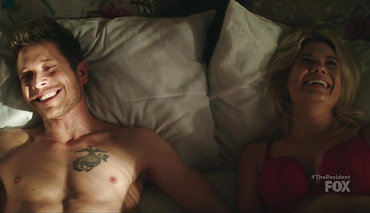 Matt Czuchry latest sexy shirtless scene March 13, 2018, 12pm